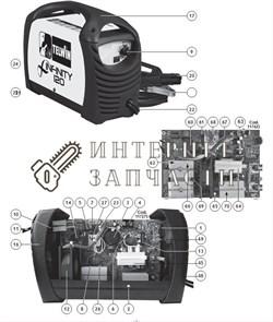 Импульсный Трансформатор сварочного аппарата Telwin INFINITY 120 - фото 150718