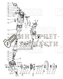 Фиксатор Шпинделя  болгарки Союз УШС-9015 №24,25 - фото 151560