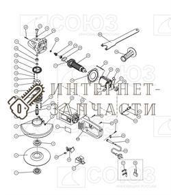 Гайка  болгарки Союз УШС-9024П№5 - фото 151630