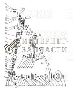 Втулка болгарки Союз УШС-90180-20 - фото 151697