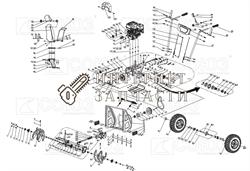 Болт Срезной снегоуборщика Союз  СУС-65 №1-10 - фото 151750