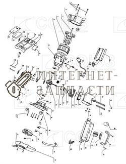 Поршень  (D45, H48, D10 Мм; 2 Кол.) бензогенератора Союз ЭГС-8711-25 - фото 151854