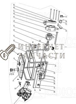Блок АВР (3-6,5KW, Разьем 4+2, Баранка) бензогенератора Союз ЭГС-87400-22 - фото 151949