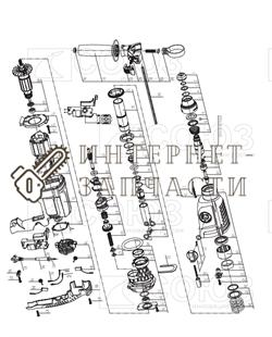 Крышка патрона (совм. Bosch gbh 2-26 dre) перфоратора Союз ПЕС-2510 №5 - фото 152001