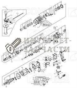 Шпиндель (d9; h41мм) перфоратора Союз ПЕС-2585 версия 2.1 от 12.2015г. №32 - фото 152338