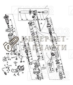 Корпус патрона перфоратора Союз ПЕС-25101 №5 - фото 152429