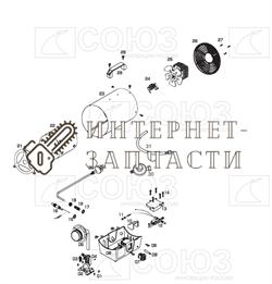 Защита тепловая газовой тепловой пушки Союз ГНС-91110 №3 - фото 164104