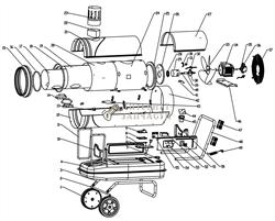 Насос +36 поз. дизельной тепловой пушки RedVerg RD-DHI50W-35 - фото 164838