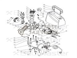 Вентилятор компрессора BAUMASTER AC-9406LX-16 - фото 167229