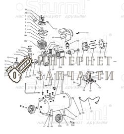 Прокладка клапана компрессора Sturm AC9316/166.v2.1-A8 - фото 167427