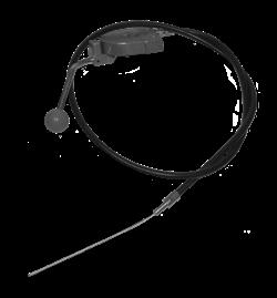 Трос газа с ручкой для реверсивных виброплит (140 см) - фото 6315