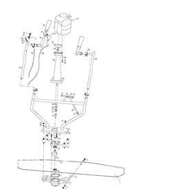 Провод виброрейки Masalta MCD-4 - фото 7086