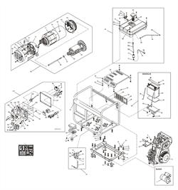 Электростартер генератора FUBAG DS 6000 D ES №1 - фото 71017