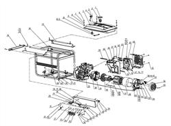 Статор генератора FUBAG MS 5000 №47 - фото 71040