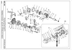 Винт М4х12 PH2 насосной станции Uragan GAP-1000 (рис.19) - фото 71390