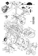 Звездочка редуктора культиватора Masteryard MT 70R TWK+ (рис.203)