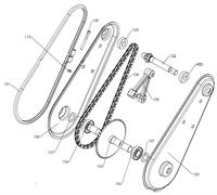 Вал редуктора культиватора Pubert MB 87 L (рис.102)