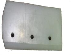 Лопасти затирочные 600 мм пластиковые  (121*217)