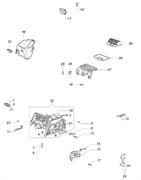 Основание воздушного фильтра бензопилы EFCO 140 (рис.27)