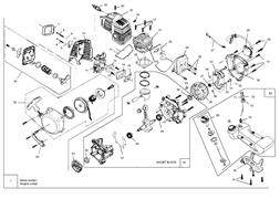 Цилиндр триммера MTD 1033 (рис. 21)