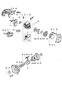 Поршень в сборе триммера Oleo-Mac 725D (рис. 17)