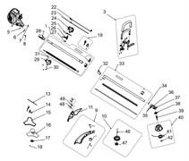 Ручка триммера Ryobi RBC430 SES (рис. 3)