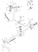 Штанга триммера Stiga SB 25D (рис. 31)