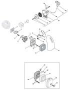 Карбюратор триммера Stiga SB 25D (рис. 5)