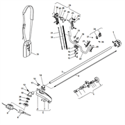 Редуктор триммера Stiga SB 420D (рис. 10)