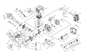 Карбюратор триммера Sturm BT 9152BL (рис. 63)