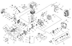 Карбюратор триммера Sturm BT 8943 BL (рис. 63)