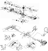 Глушитель триммера Зубр ЗКРБ-250 (рис. 42.1)