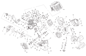 Глушитель триммера Калибр БК- 800/4М (рис. 71)
