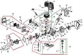 Глушитель культиватора Champion GC243 (рис. 46)