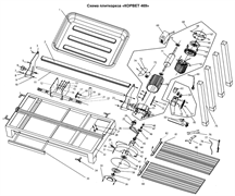 Ремень передачи плиткореза Энкор Корвет 469 (94690) (рис.26)