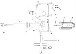Выключатель \ On-off switch, 63WN05 аппарата для сварки полипропиленовых труб Elitech СПТ 1500 (рис.