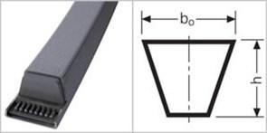 Приводной клиновой ремень 10X650 Z 25,5 Z 673