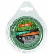 Леска Standart D 1,6 мм L 15 м (звезда, зеленая) 165-15-3, блистер