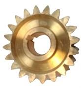 Шестерня редуктора шнека снегоуборщика 20 зубьев, под вал 20 мм, наружный диаметр 70 мм, острозубая