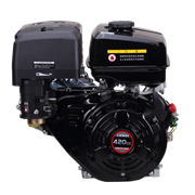 Двигатель Lonchin G420FD вал Типа-A (с электростартером)