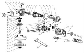 Ротор под шлиц болгарки Зубр ЗУШМ-115-720 (рис.27)
