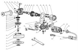 Ротор под шлиц болгарки Зубр ЗУШМ-125-800_z01 (рис.27)
