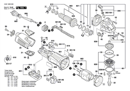 Этикетка фирмыGWS 19-125 CI болгарки Bosch GWS 19-125 CI (рис.9)