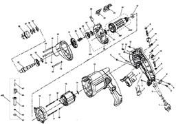 Подшипник шариковый 609-2RS (24х9х7) дрели Зубр ЗДУ-850-ЭРМ (рис.21)