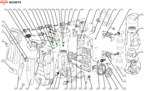 Шланг высокого давления минимойки Elitech М1500 Р2
