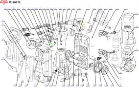 Пистолет минимойки Elitech М1500 Р2