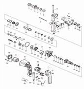 Шестерня ствола перфоратора Зубр ЗП-470Э (рис.24)