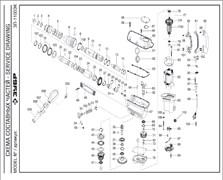 Подшипник шариковый 6003-2RS (35х17х10) измельчителя Grinda 8-43160-2200 (рис.66)