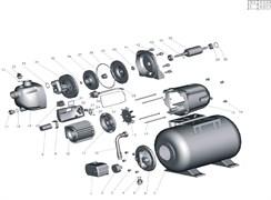 Ручка-клапан насосной станции Grinda 8-43240-1300 (рис.5, 32)