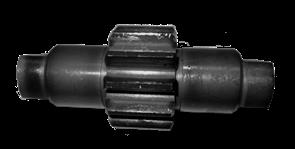 Вал зубчатой передачи виброплиты Masterpac PC6040